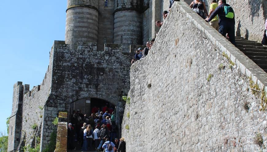 Votre billet coupe-file vous permettra un accès prioritaire à la visite de l'Abbaye