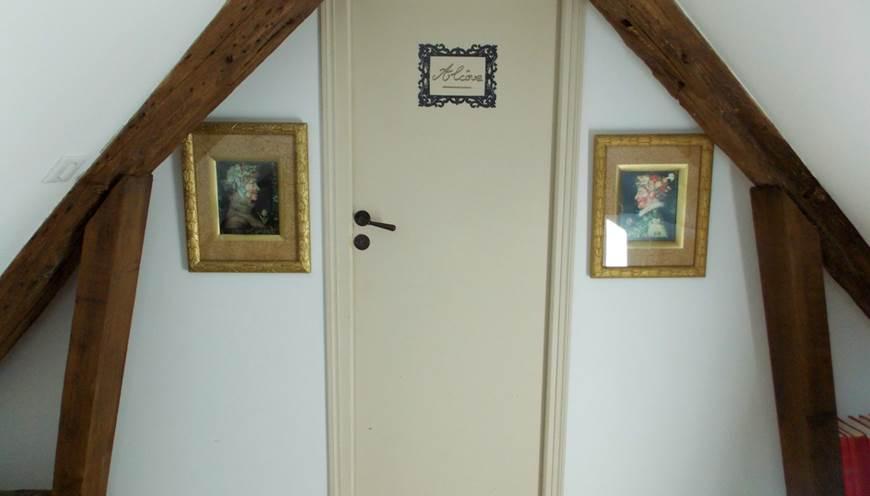 Domaine du Gué du Roi Chambre d'Hôtes Alcôve Entrée