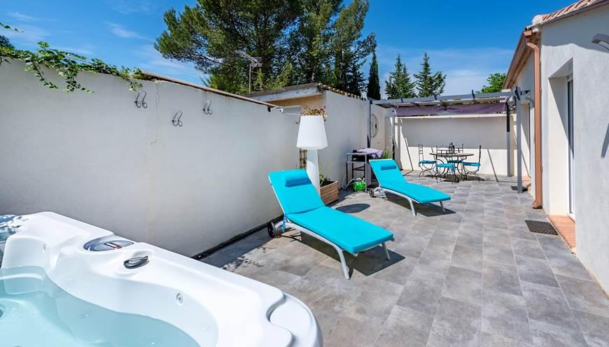 Villa Cubic - Terrasse - spa