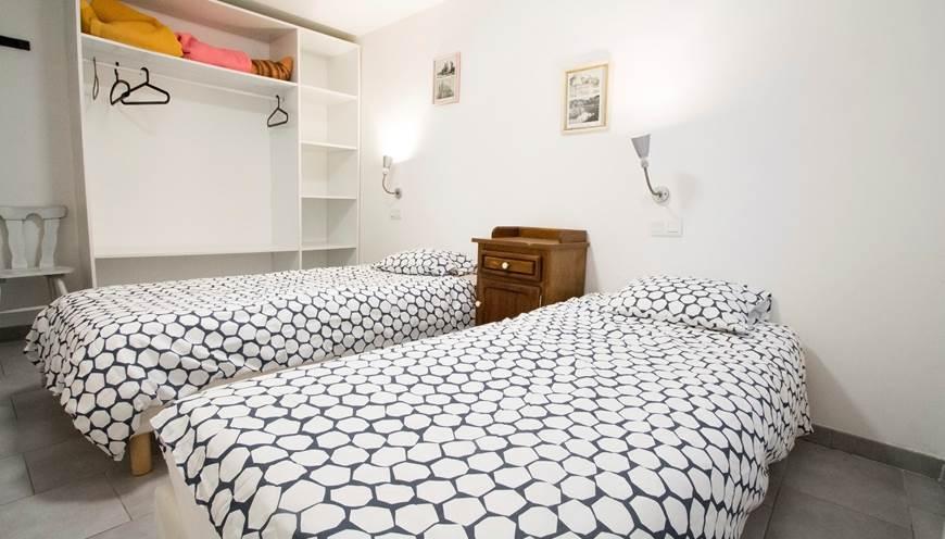 19 B gîte Chambres lits jumeaux