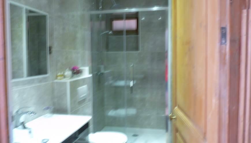 sa salle de douche