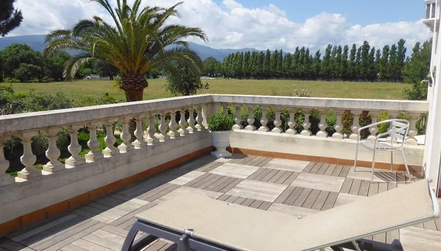 Chambre Massane terrasse