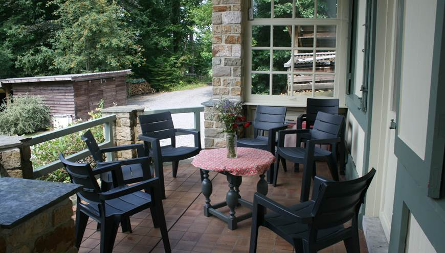Terrasse - coin salon