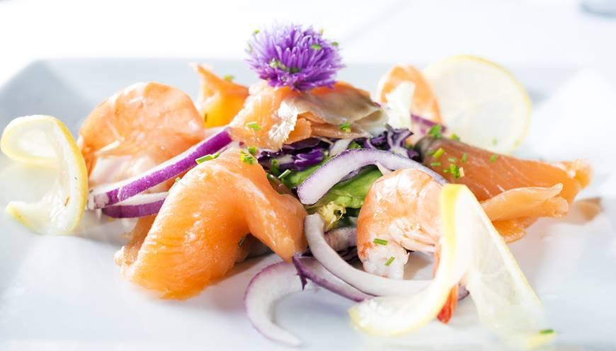 Des produits de la mer présentés avec raffinement
