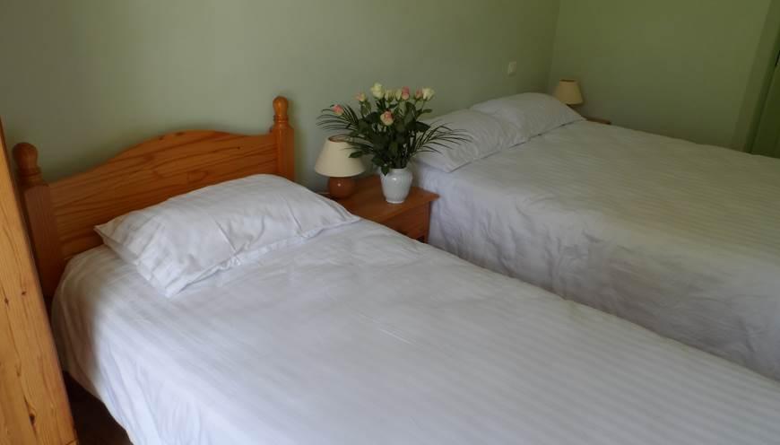 chambre 2 personnes 2 lits jumeaux