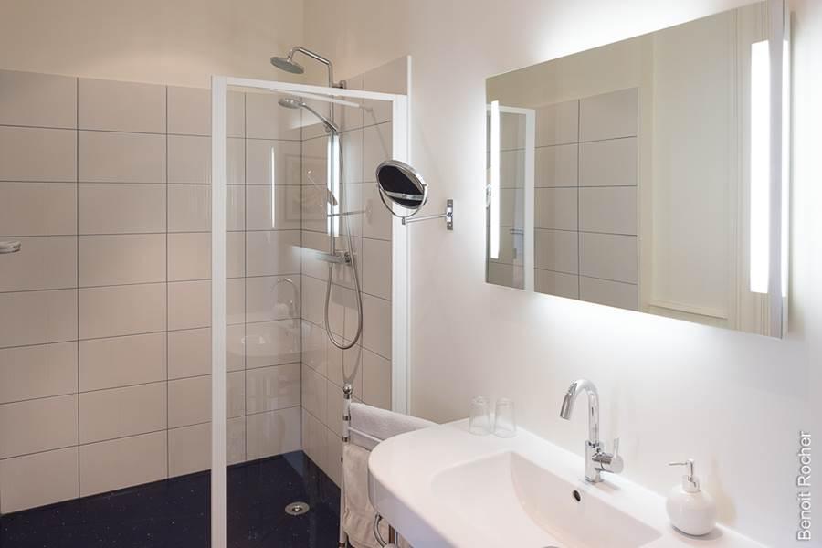 salle de douche Suite 1 chambre, sèche cheveux, séminaire, incentive