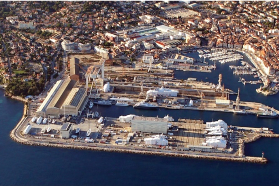 Site La Ciotat Shipyards & MB92