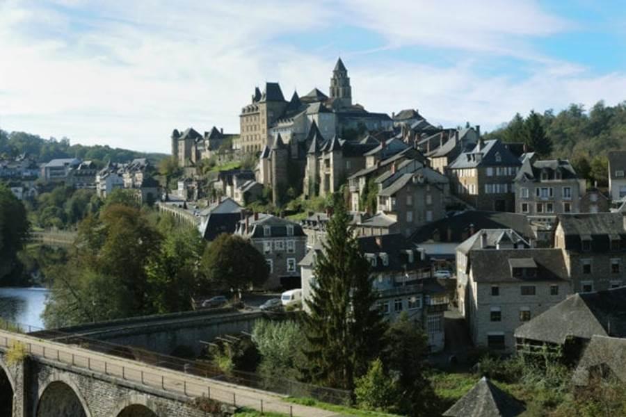 Vue sur la ville historique