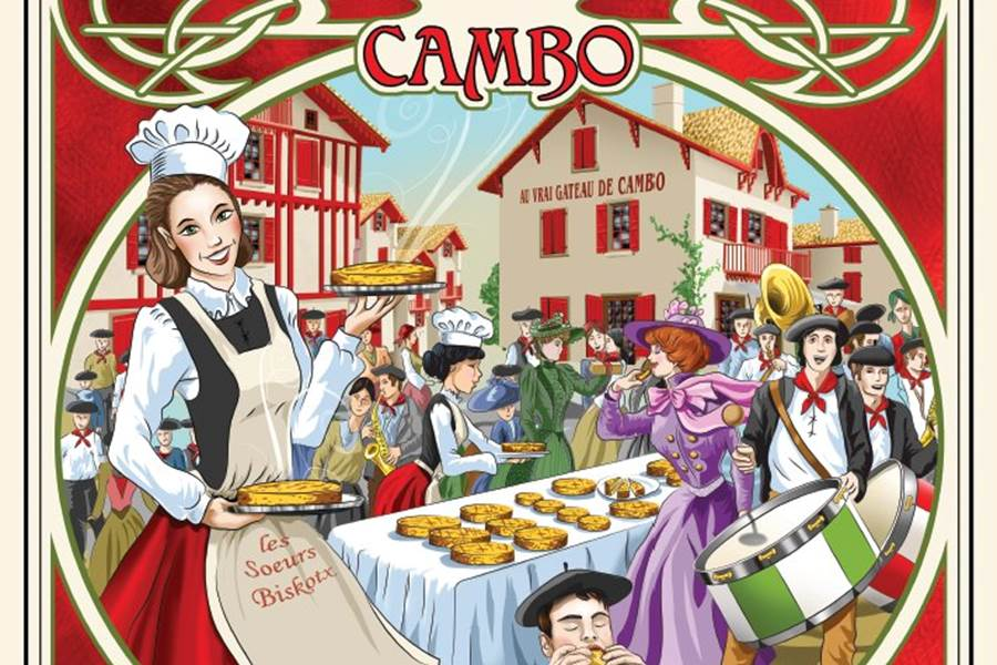 Fête du Gâteau Basque à Cambo