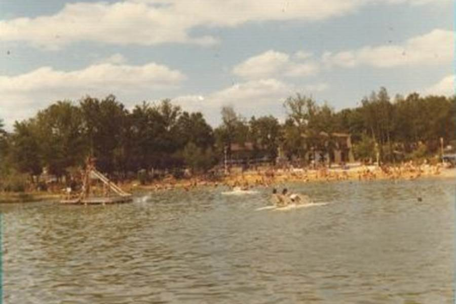 PHOTOS DE L'ETANG BLEU 1968