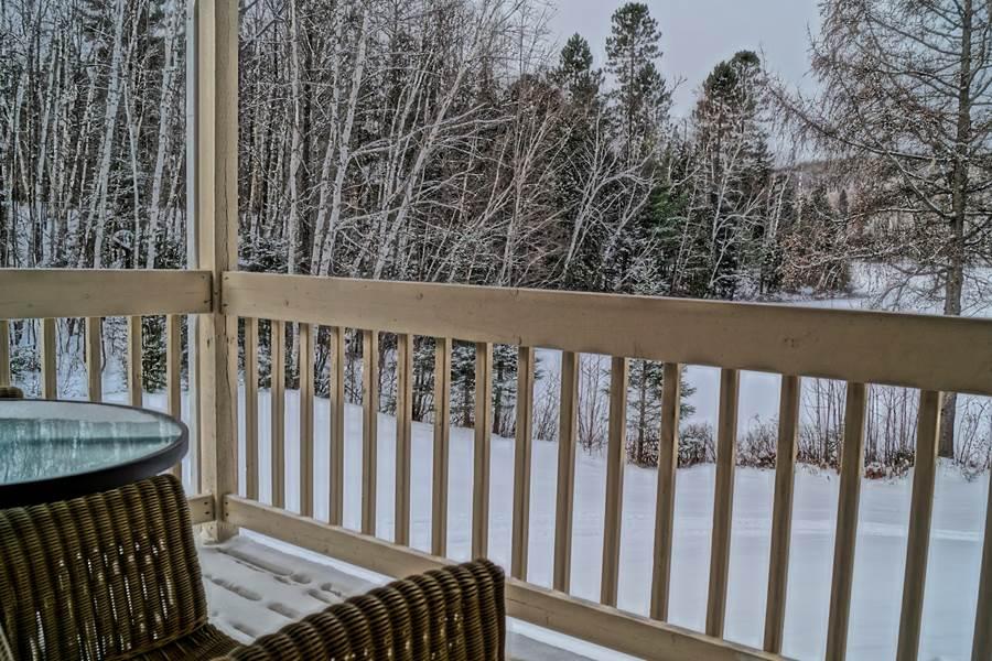 balcon privé de la suite