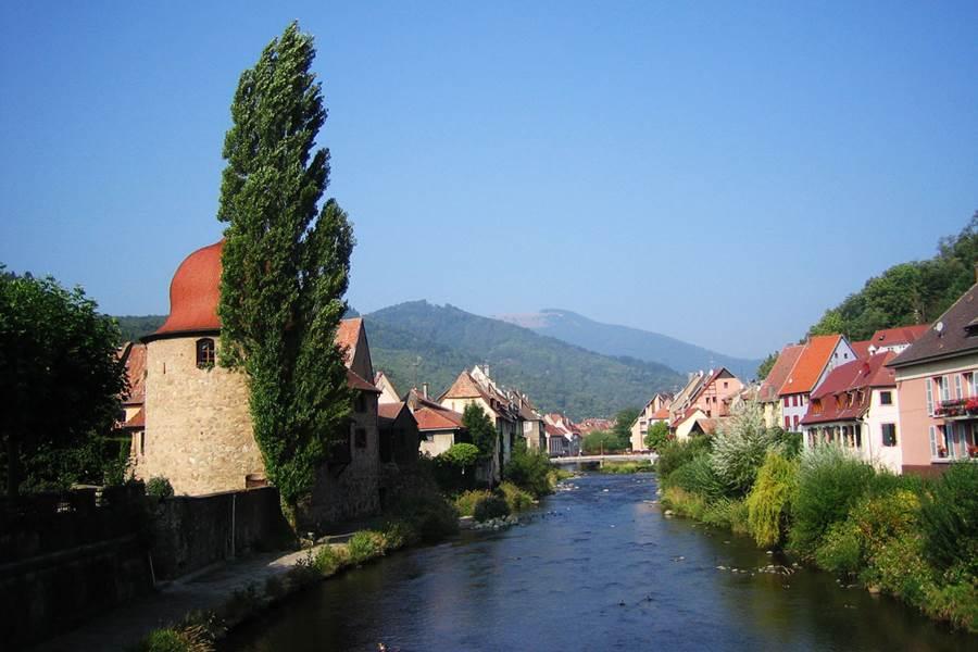 Thur Thann route des vins 20mn de lac de kruth