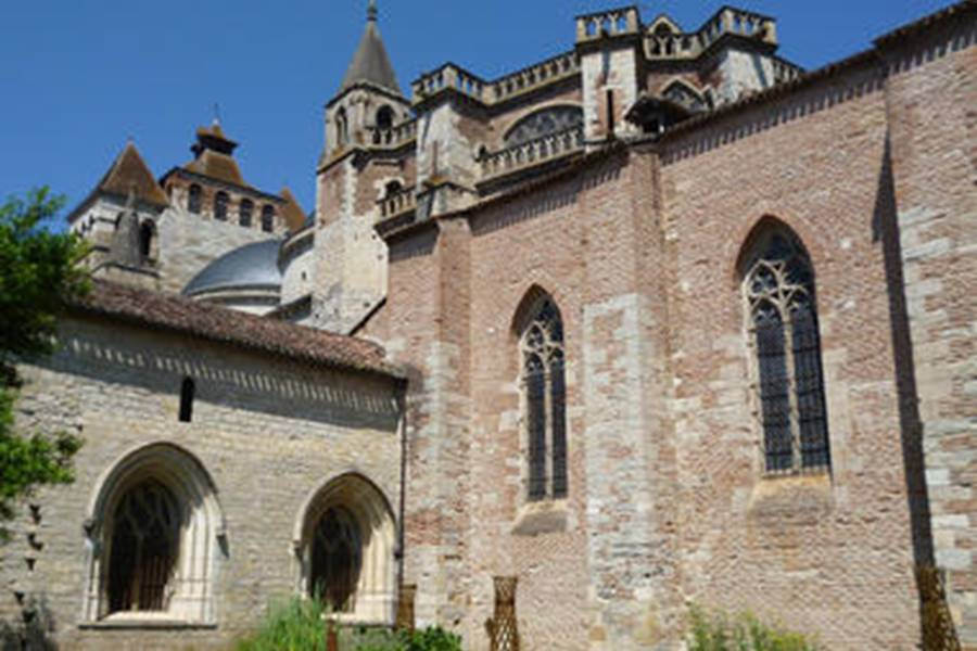 La cathédrale Saint Etienne à Cahors