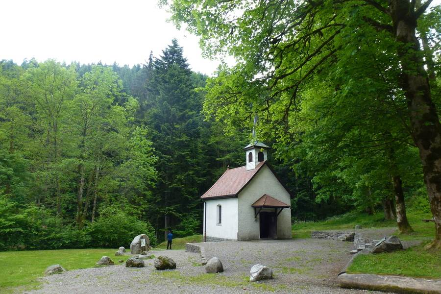 chapelle saint nicoals  kruth