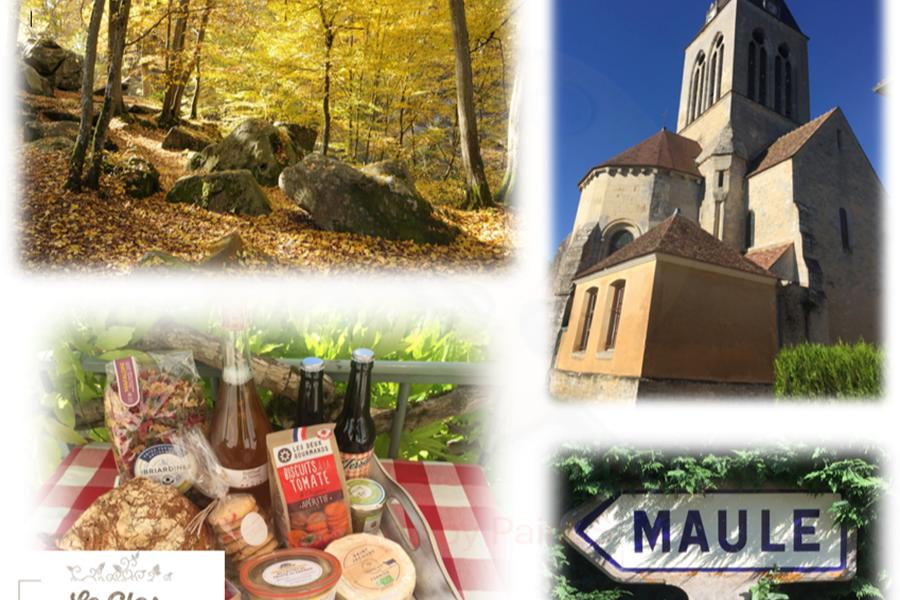 Saveurs et couleurs d'automne Gîtes du Clos Saint-Martin Maule