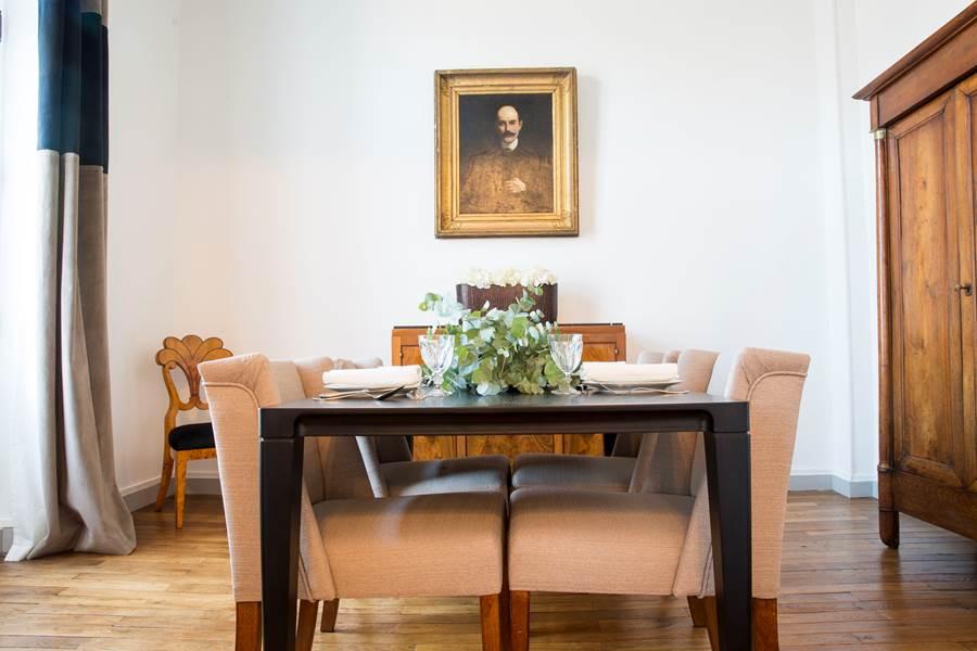 La salle à manger des Effrontés Louis Blanc à Limoges