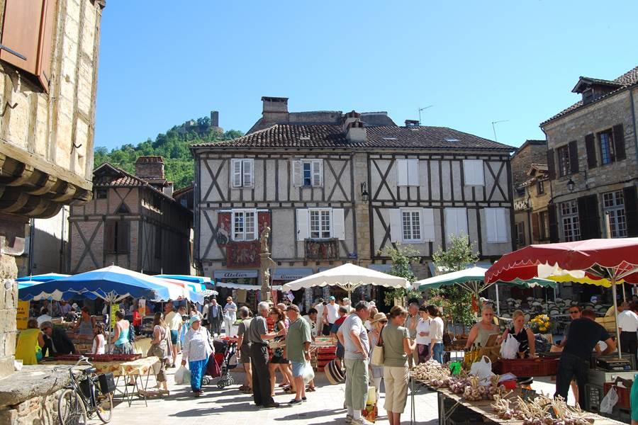 Saint-Céré, Place du Mercadial @OTVD
