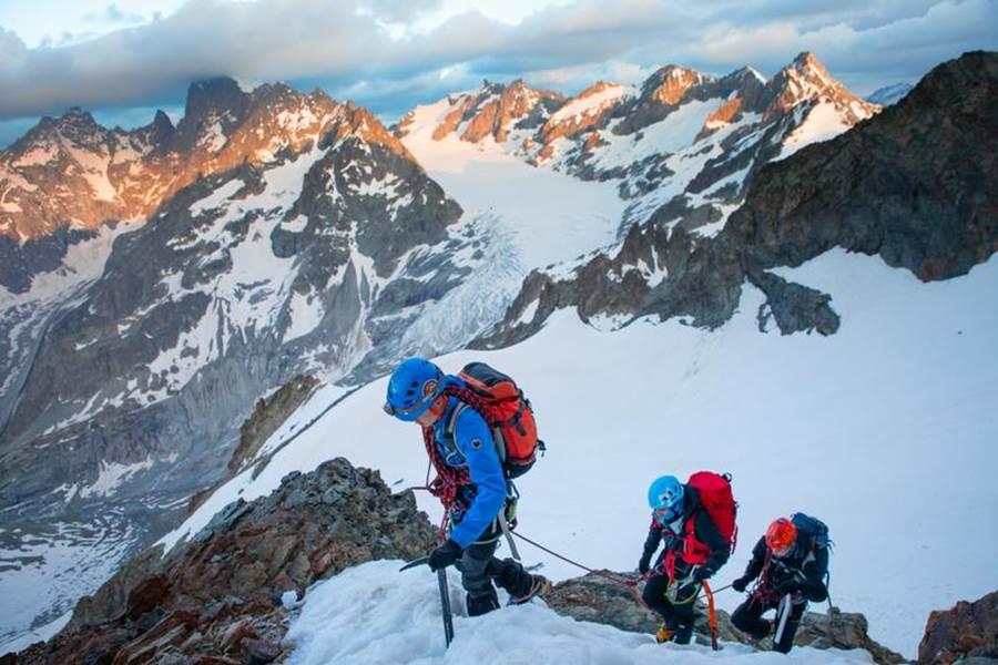 Alpinisme a Roche Faurio