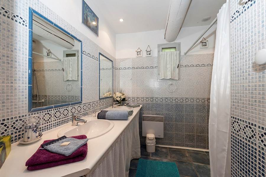 109 Salle de bain chambre Lilas - Bastide-des-Pins