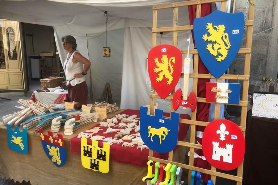 la fête médiévale à Saint-Léonard de Noblat