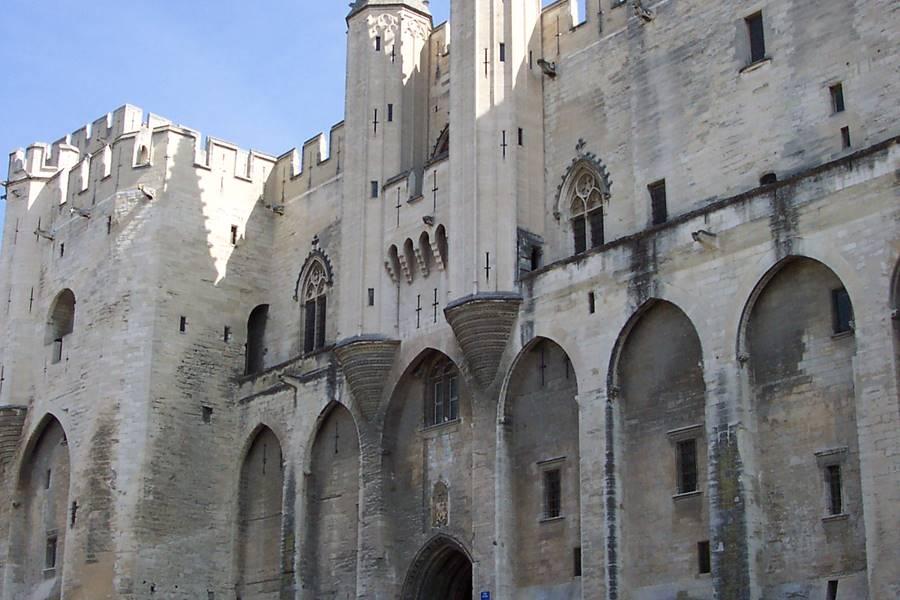 Le plais des Papes Avignon
