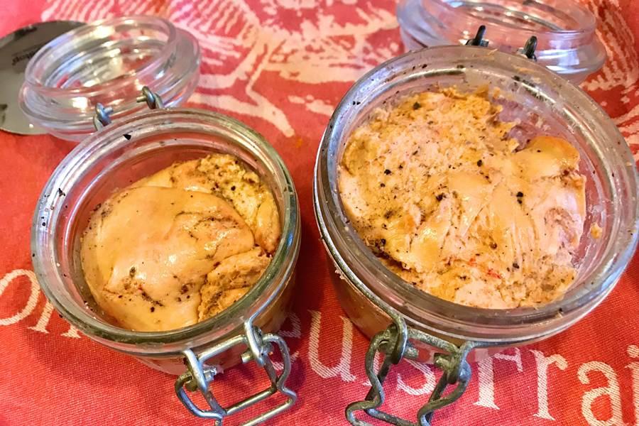 Faire son foie gras en verrine, séjour à Côté Granges