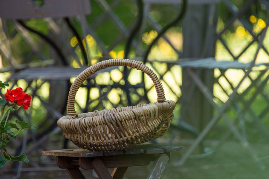 Terrasse du gîte Cassiopée, la Maison des Etoiles