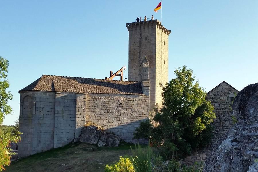 la tour d'Apcher