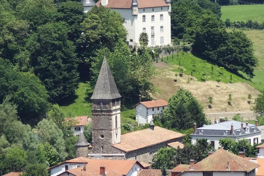 Visite_Baigorry chateau Etxauz et église