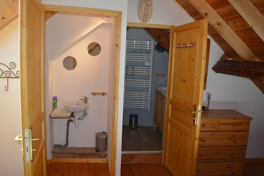 Chambre Québec Salle d'eau et WC privatif