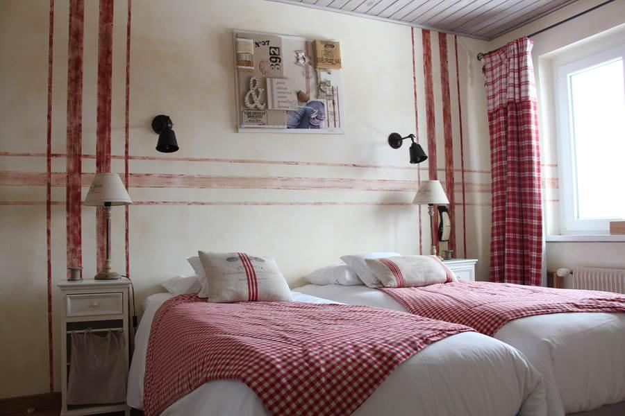 chambre confort douchewc style champêtre