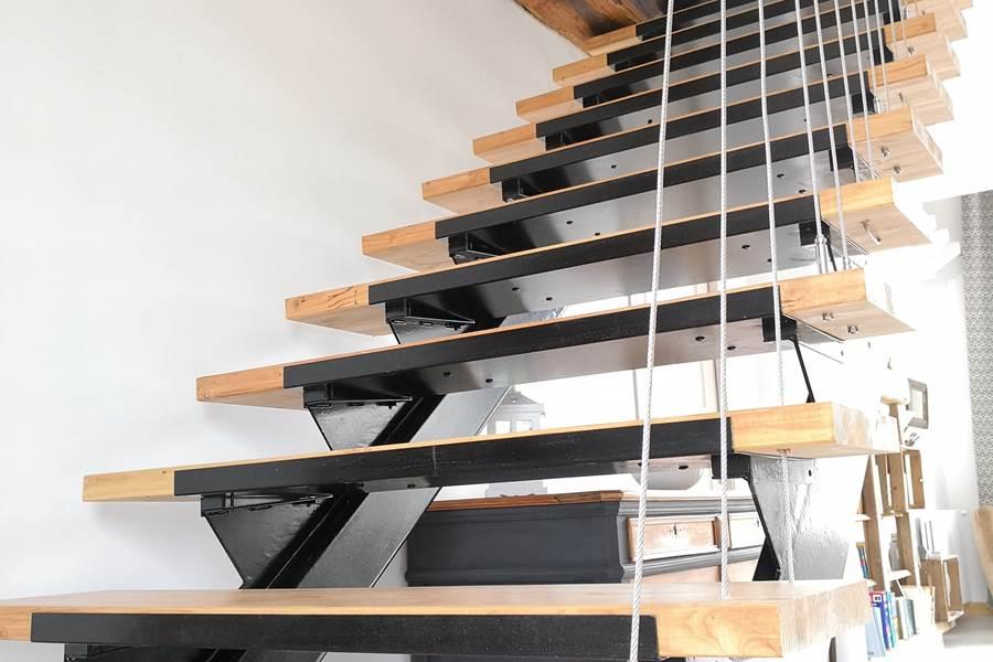 escalier totalement revisité