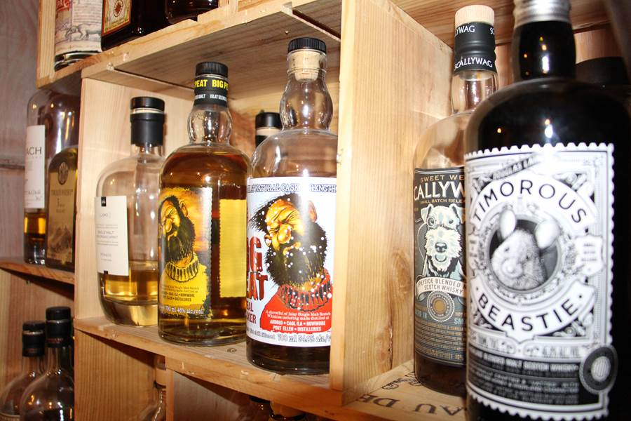la collection de whisky