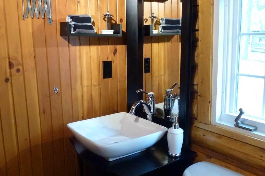 Le Trappeur Salle de bain