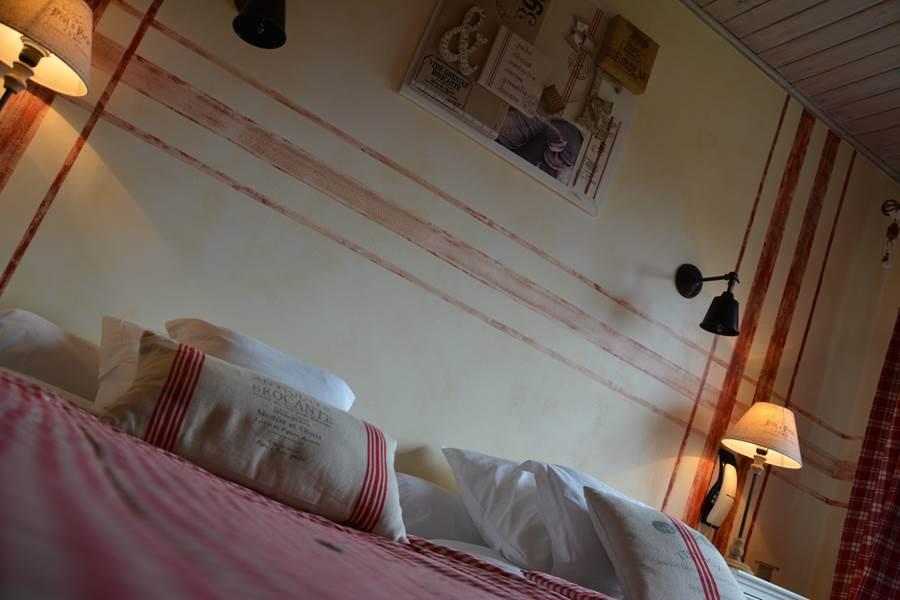 chambre lin et ficelle