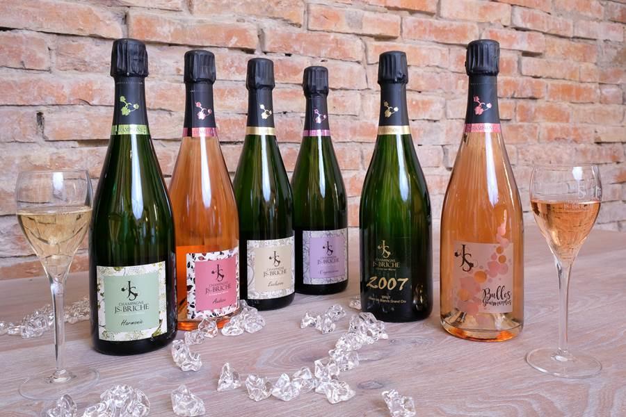 Champagne JS. BRICHE