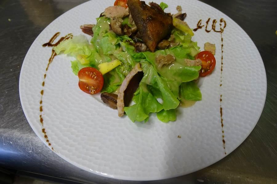 Samoussa aux escargot