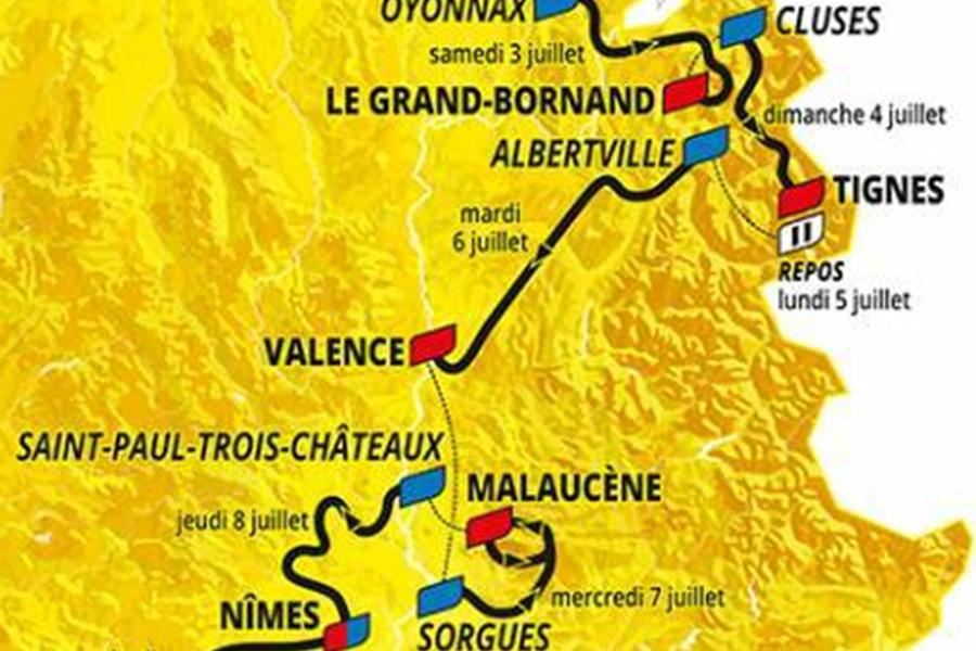 Tour de France 2021 4 Juillet 2021