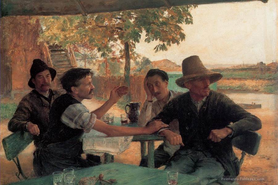 6-La-Discussion-politique-Realism-Emile-Friant