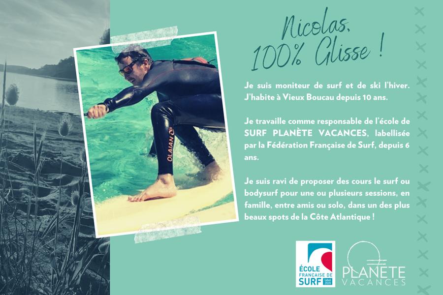 présentation team village planete vacances - Nicolas