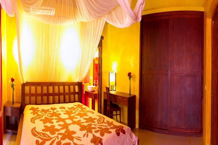 Villa Tamanu chambre