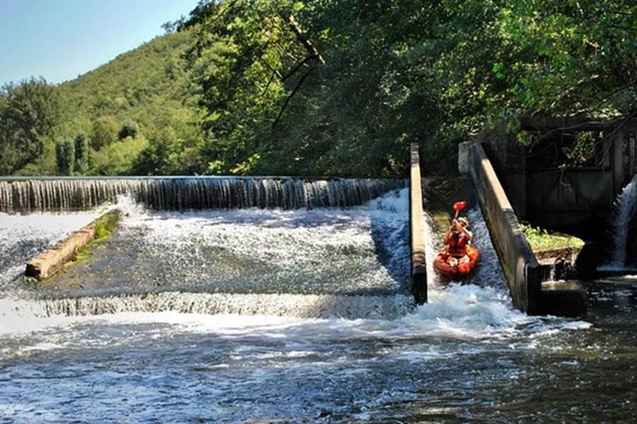 Passe à canoe kayak Gorges de l'Aveyron