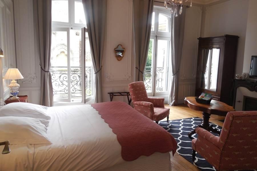 Chambres d'hôtes Le Jardin des Lys  chambre Fleur de Lys