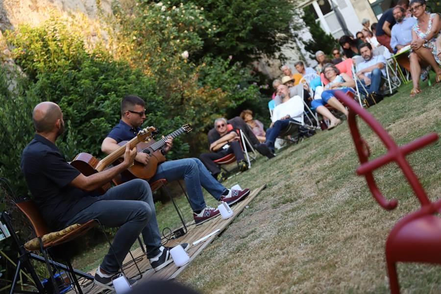 concert, musique, jazz manouche, diner, africain, jardin, nouvelle-aquitaine