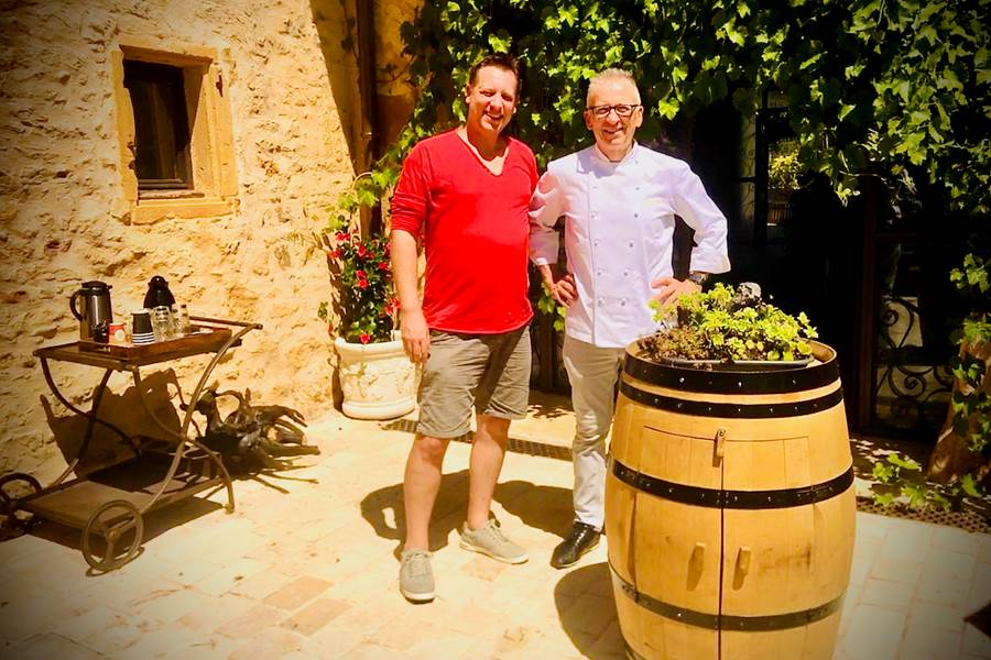 Le clos des anges  chef Denis
