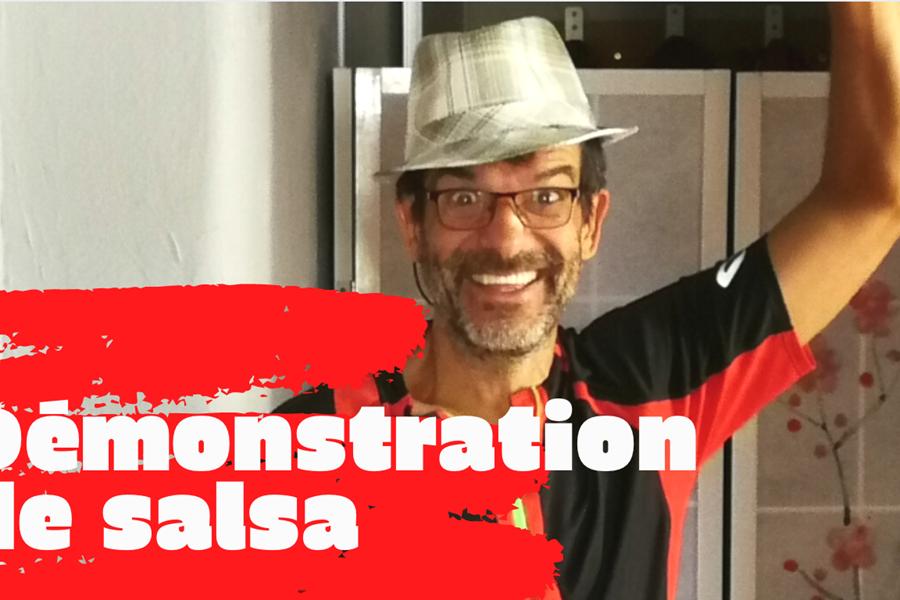 Photo présentation du prof de Salsa