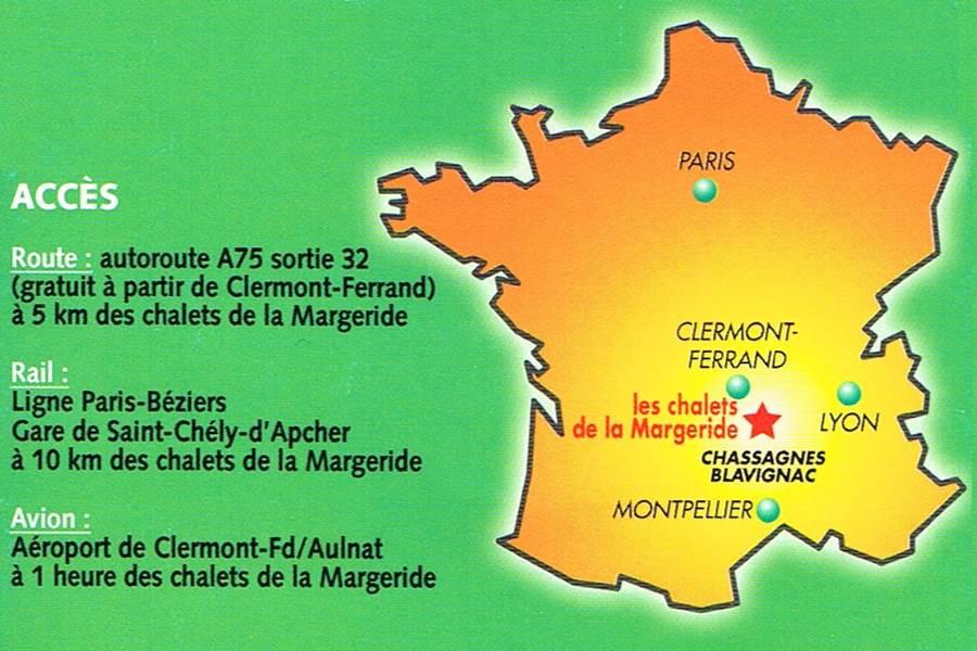 Les Chalets de la Margeride AU CŒUR DU PAYS