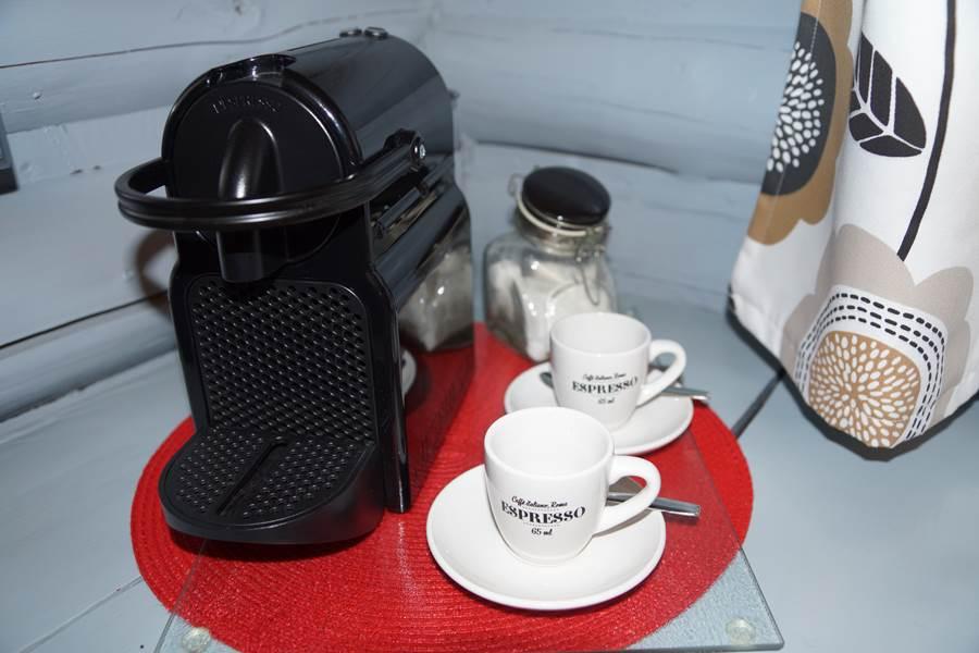 La Tuque, Domaine le Bostonnais, Chalet le Forgeron Café Nespresso