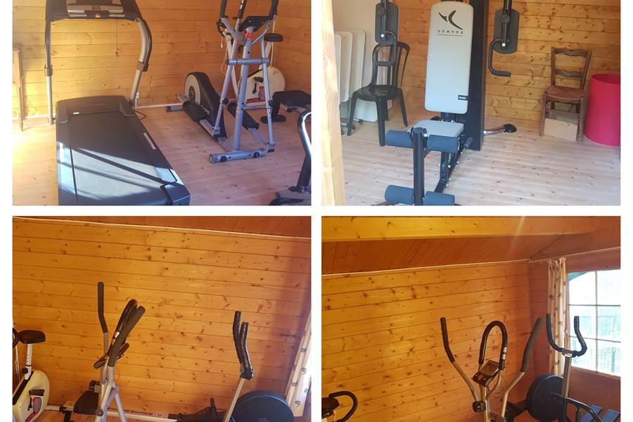 salle de remise en forme sport - venir en séjour en Haute-Vienne 87120