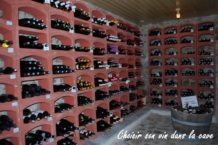 cave à vin choisir son vin le Ranch des Lacs
